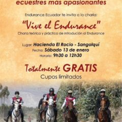 CHARLA DE INTRODUCCION AL ENDURANCE 2018